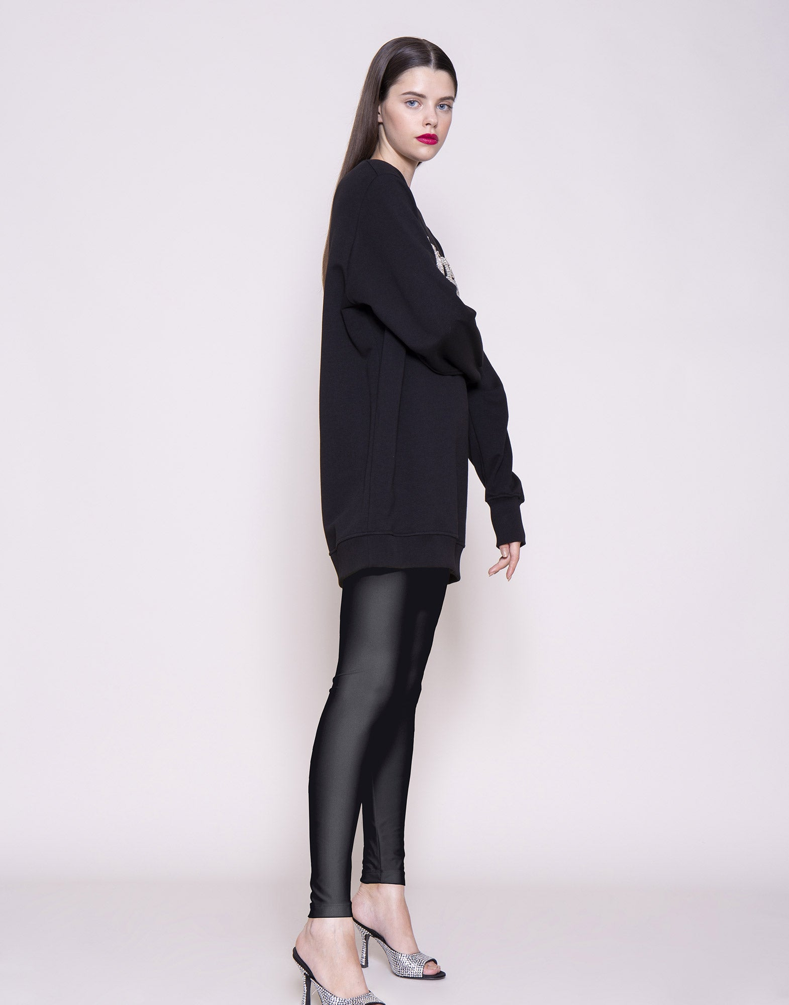 Black Lycra leggings | NEW ARRIVALS