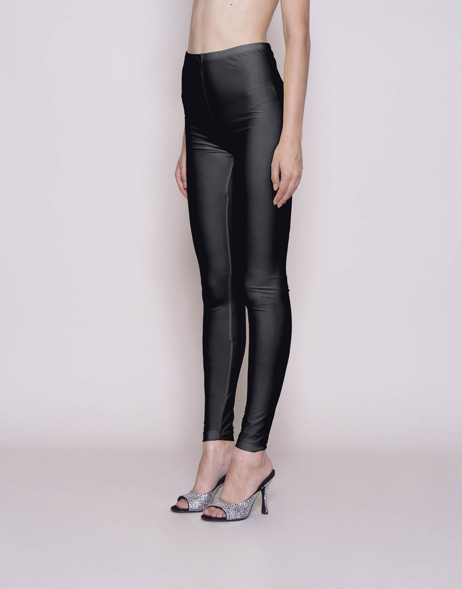 Black Lycra leggings