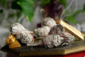 Namaskarasu California Smudging Bundle Kit - 6 x White Sage «AWAKENING»