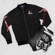 Load image into Gallery viewer, DirtBagz Wolves Bomber Jacket