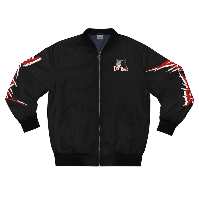 DirtBagz Wolves Bomber Jacket