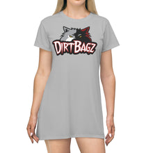 Load image into Gallery viewer, DirtBagz Wolves T-Shirt Dress + Digital Album