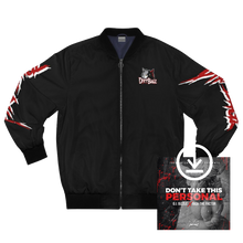 Load image into Gallery viewer, DirtBagz Wolves Bomber Jacket + Digital Album
