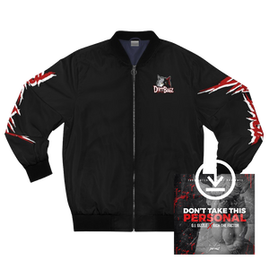 DirtBagz Wolves Bomber Jacket + Digital Album