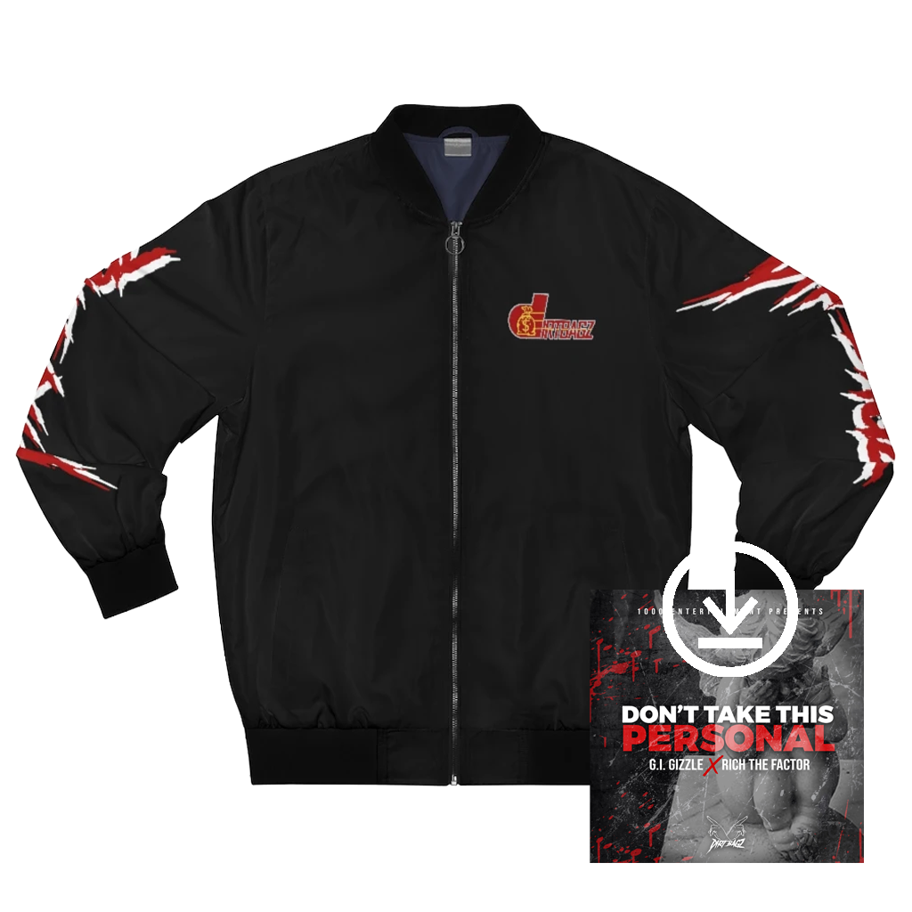 DirtBagz Pacers Bomber Jacket + Digital Album