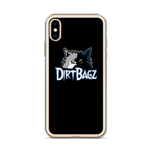 DirtBagz Wolves iPhone Case