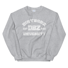 Load image into Gallery viewer, DirtBagz University Sweat Shirt