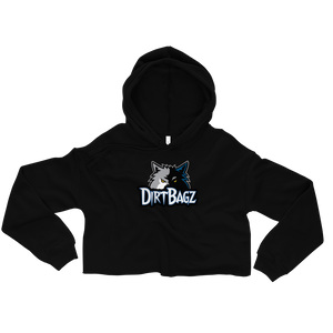 DirtBagz Wolves Women's Crop Hoodie