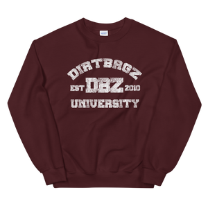DirtBagz University Sweat Shirt