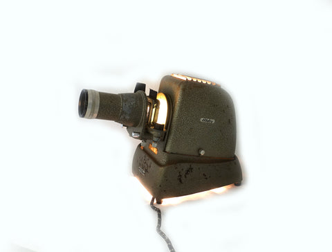 "Vintage 1950s working Aldis 2"" slide Projector, mid century slide projector"