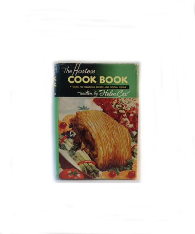 Vintage 1950s/1960s The Hostess Cookbook by New Zealand Helen Cox