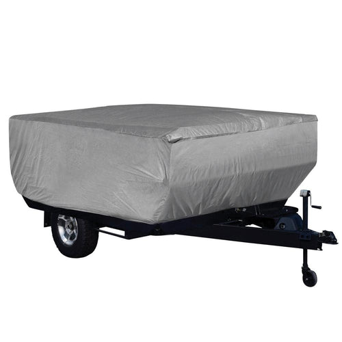 Pop Up Folding Camping Trailer Covers For RV Trailer GRAY