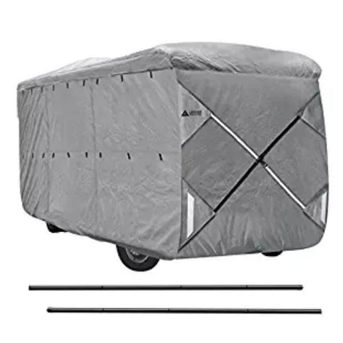 NEW EASY SETUP Class A RV Cover GRAY