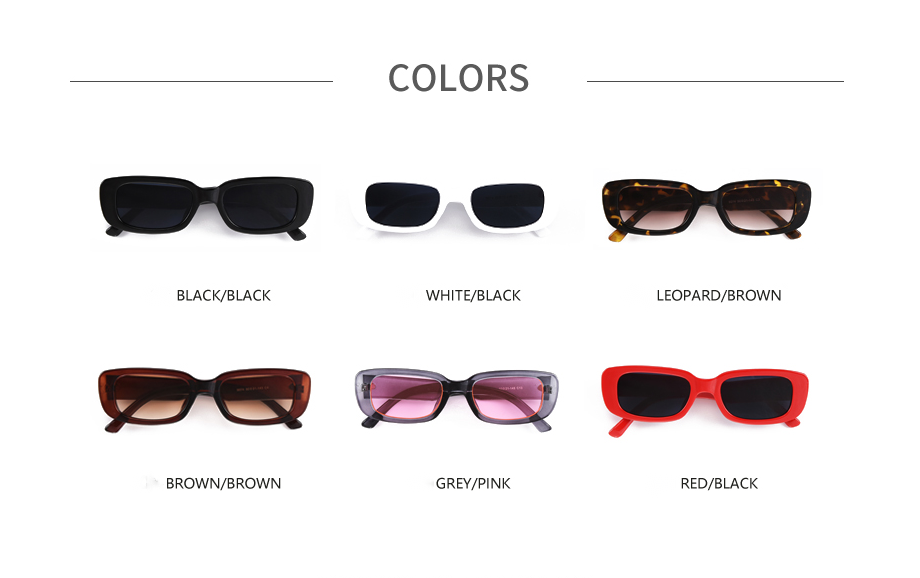 Small frame retro personality men and women sunglasses
