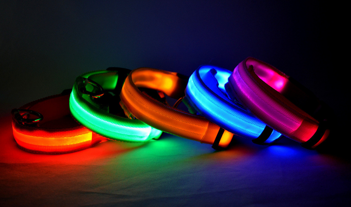 LED USB Collar
