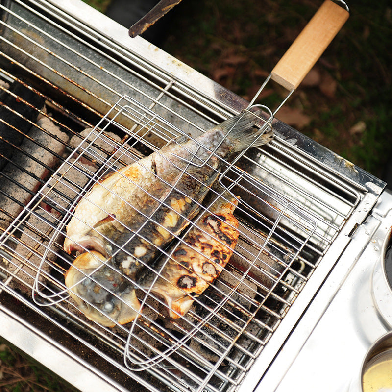 BBQ Grill Mesh With Handle