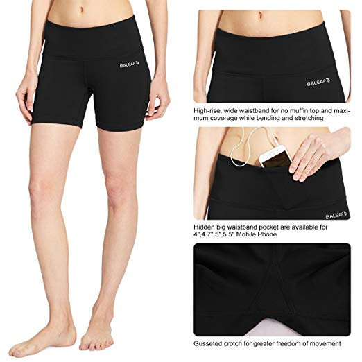 Women's High Waist Yoga Shorts