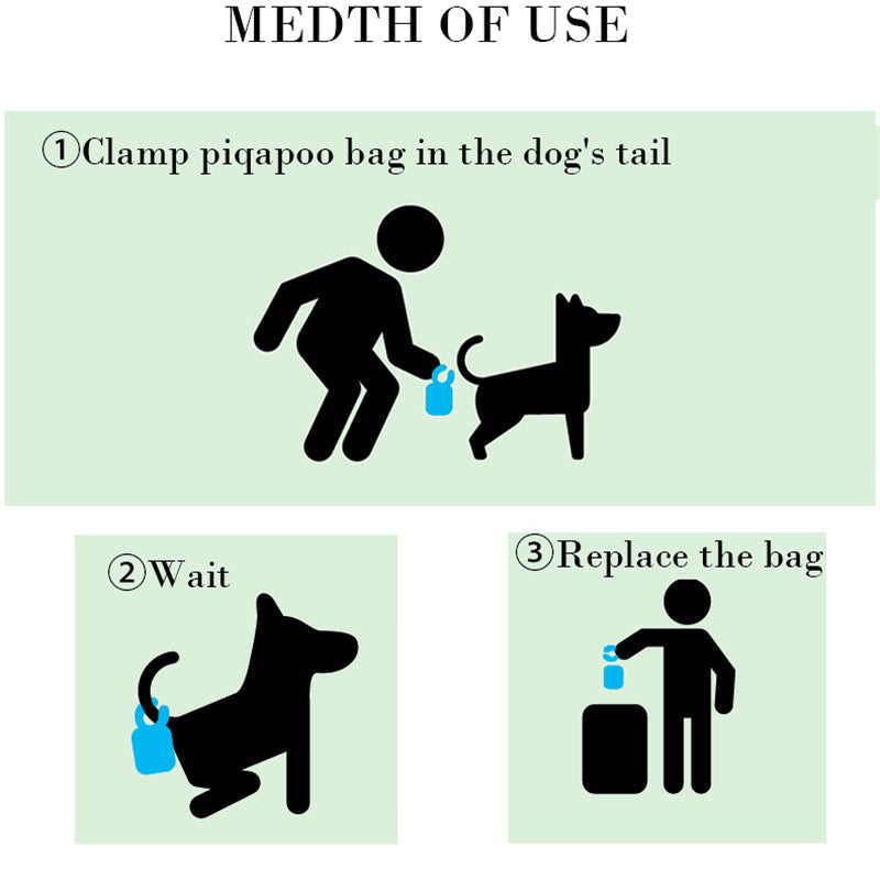 Attaching Pet Waste Bag