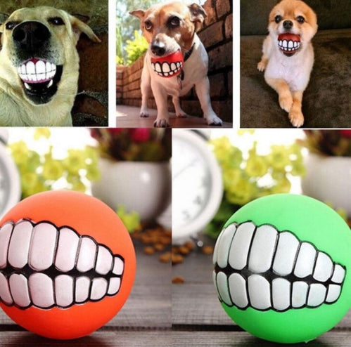 Toothy Grin Bouncy Ball