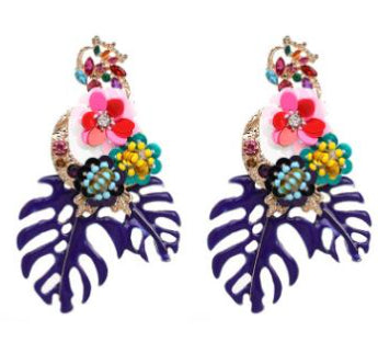 Chunky Tropical Earrings