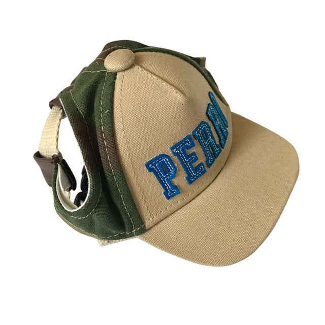 Pet Baseball Sun Shield Cap