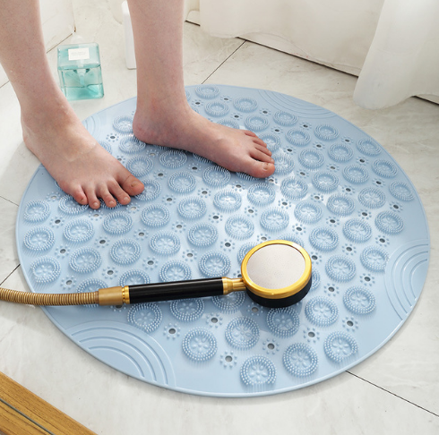 Round bathroom Non-Slip Waterproof Mat
