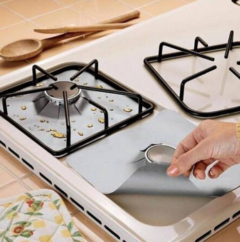 Reusable Kitchen Burner Protecting Cover
