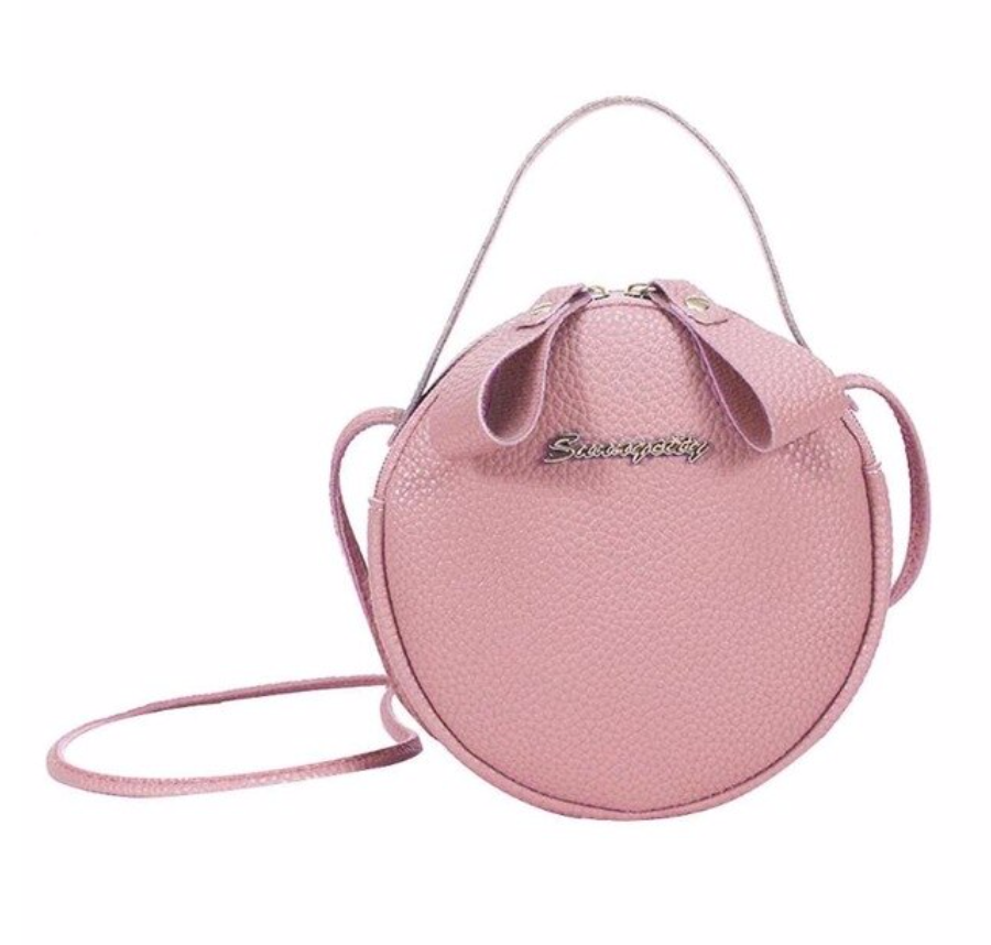 Round Bag With Handle