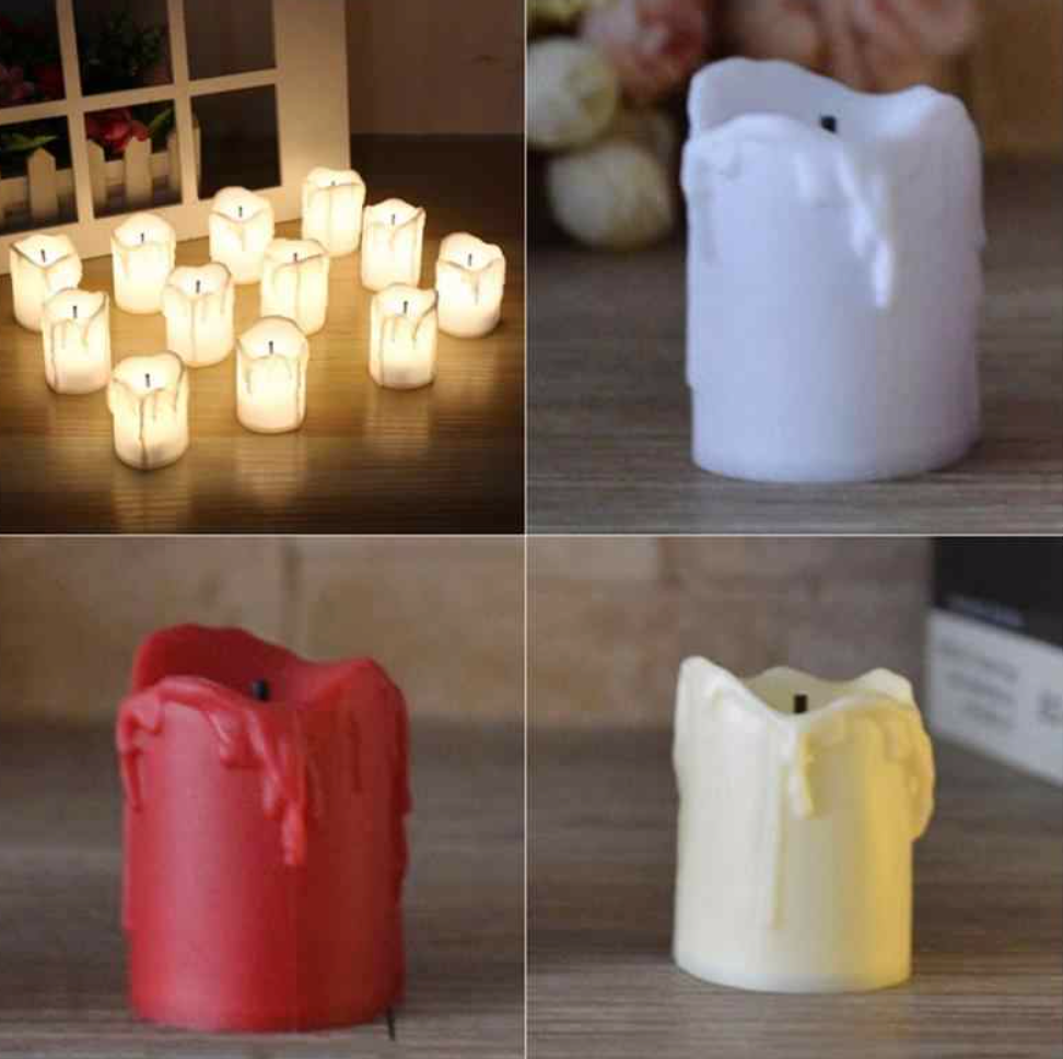 Halloween Led Candles  (24 pcs)