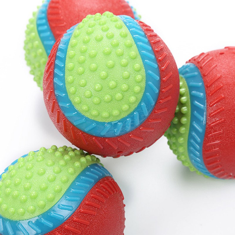 Pet Dog Rubber Toy Ball