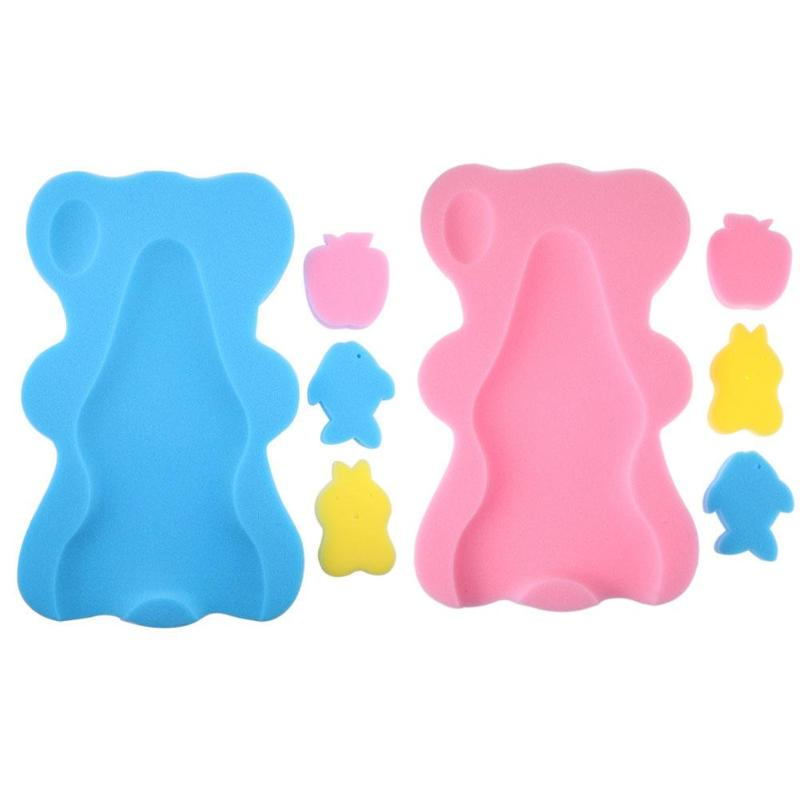 Bear Shape Baby Shower Sponge