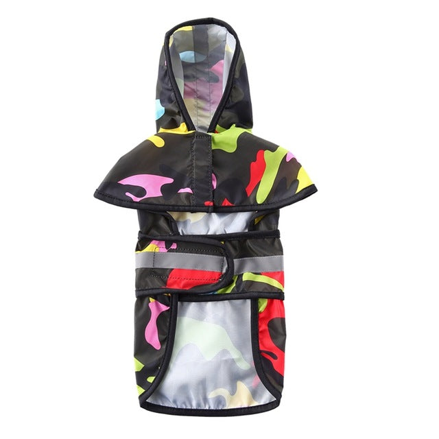 Reflective Raincoat For Dog
