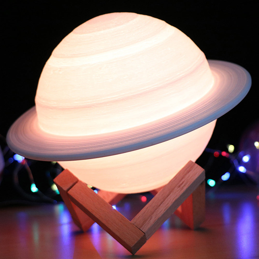 3D Printing Saturn Lamp LED Night Light