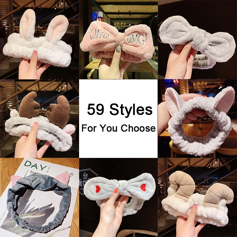 Soft Warm Hair Holder Hairbands