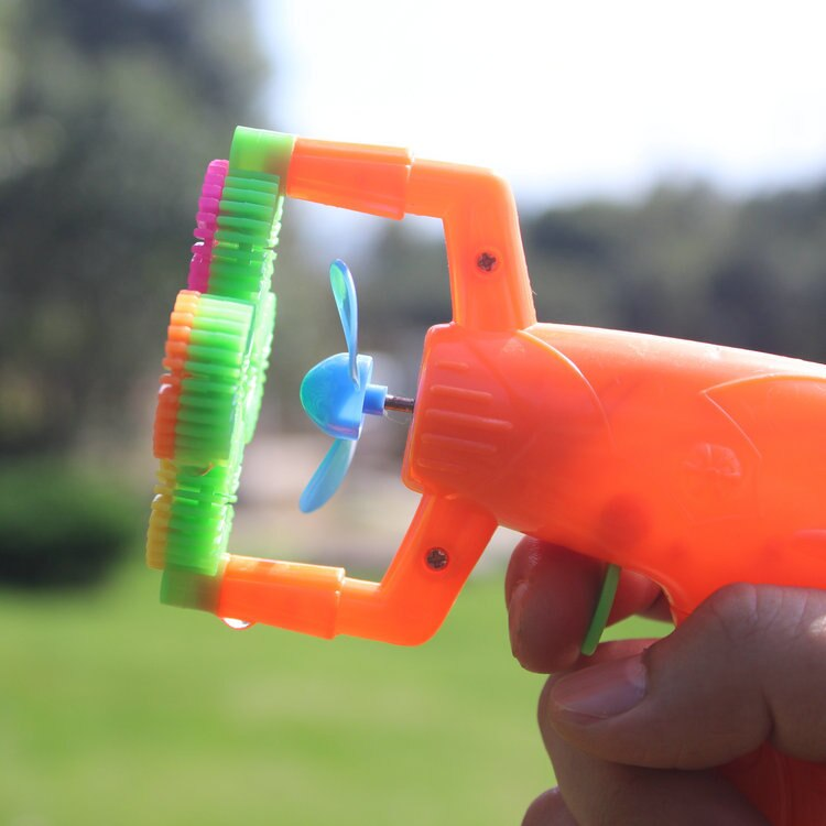Electric Soap Bubble Gun