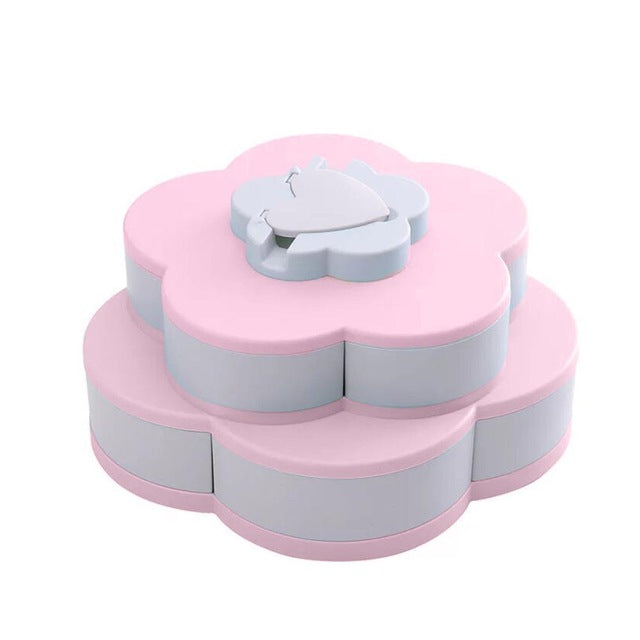 Multifunctional Rotating Snack Box