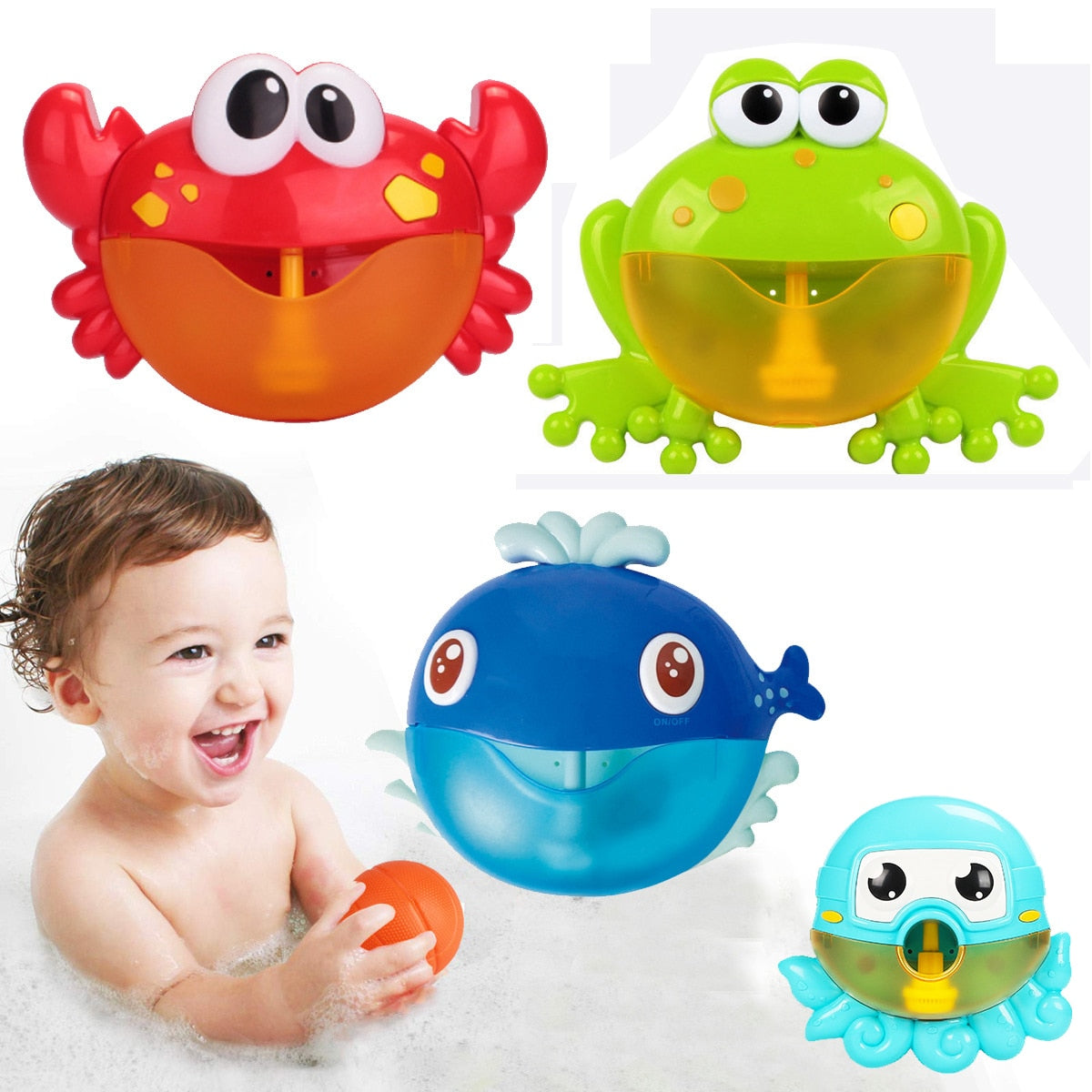 Bubble Machine Kids Bath Toy