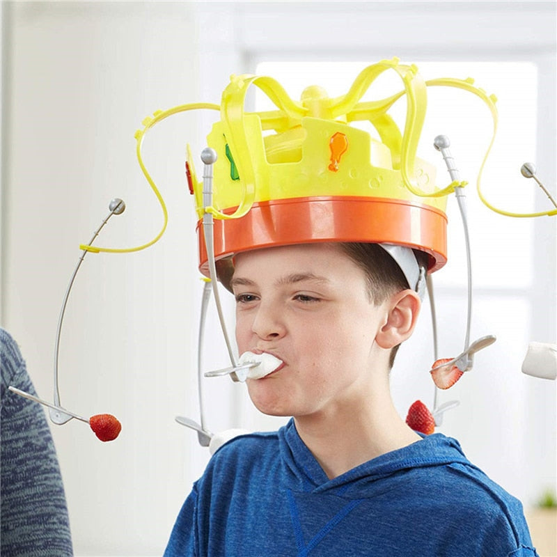 Kids Electronic Spinning Crown Game
