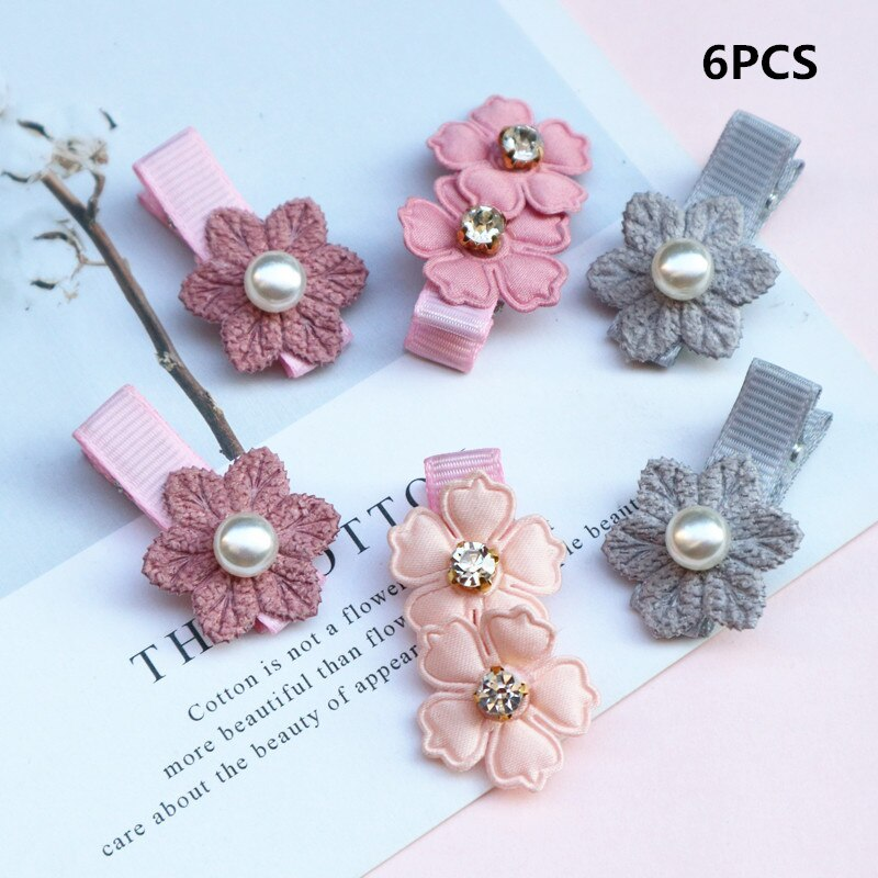 Synthetic Hair Clips For Girls