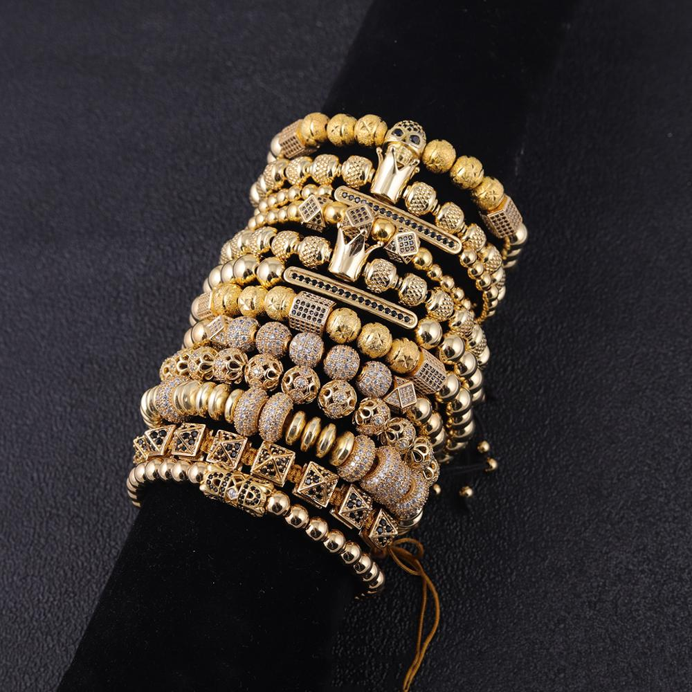 4pcs/set Luxury Men Bracelet