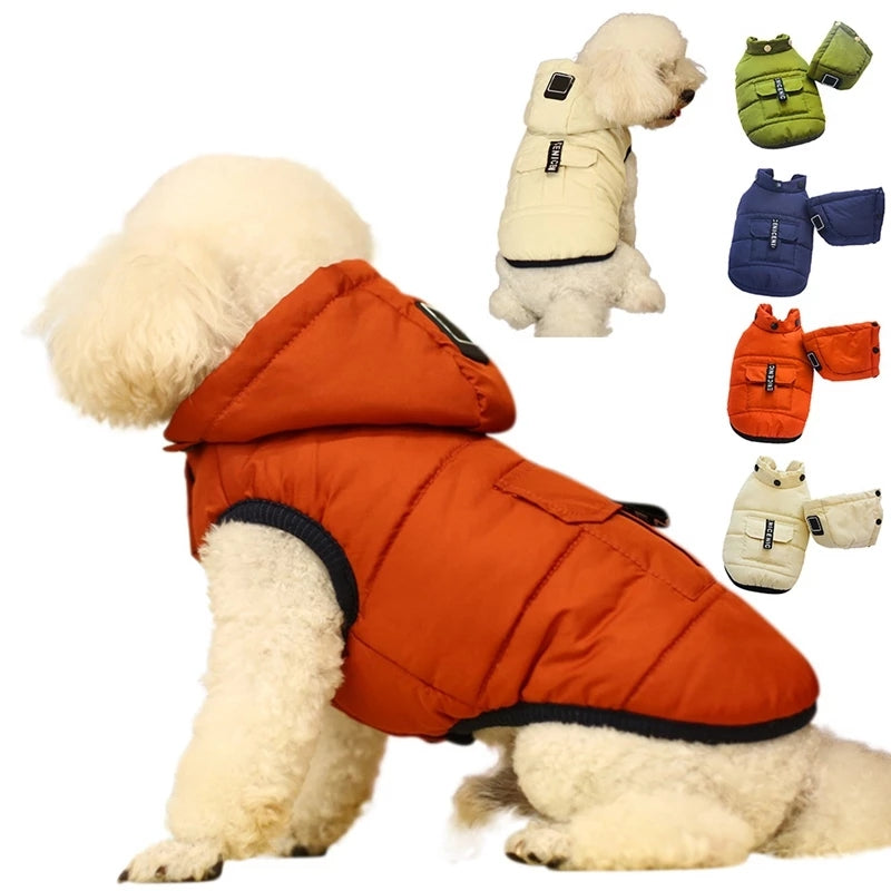 Dogs Padded Winter Warming Coat