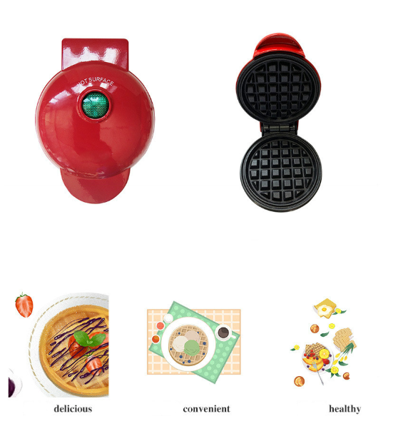 Electric Mini Waffle Bubble Cake Maker