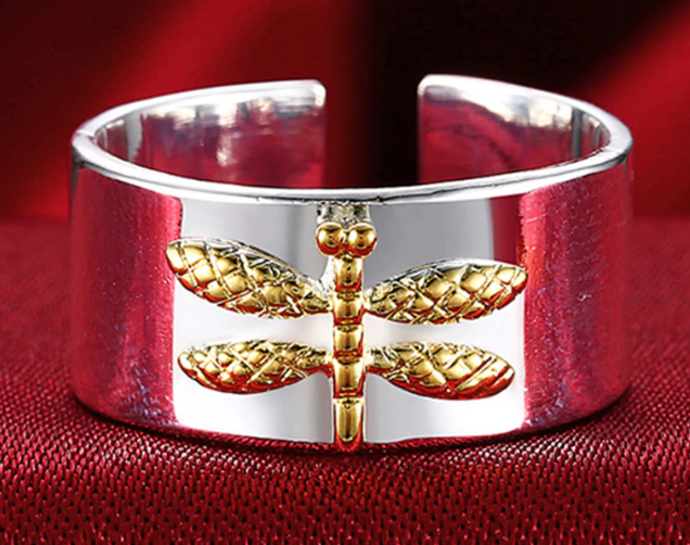 Fashion Dragonfly Ring