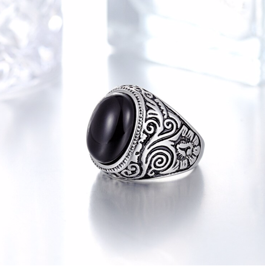 Antique Silver Ring For Men