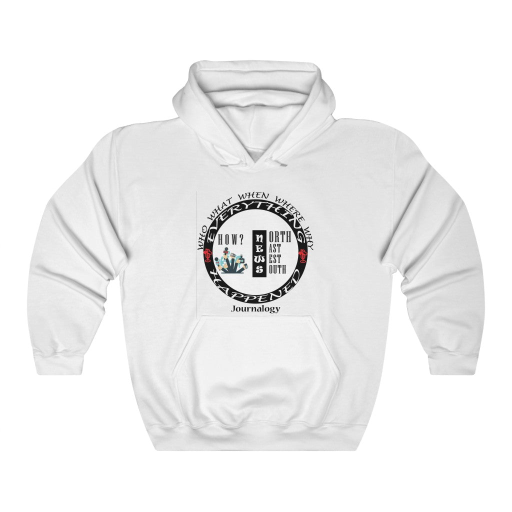 Journalogy ™ Journalist Hooded Sweatshirt