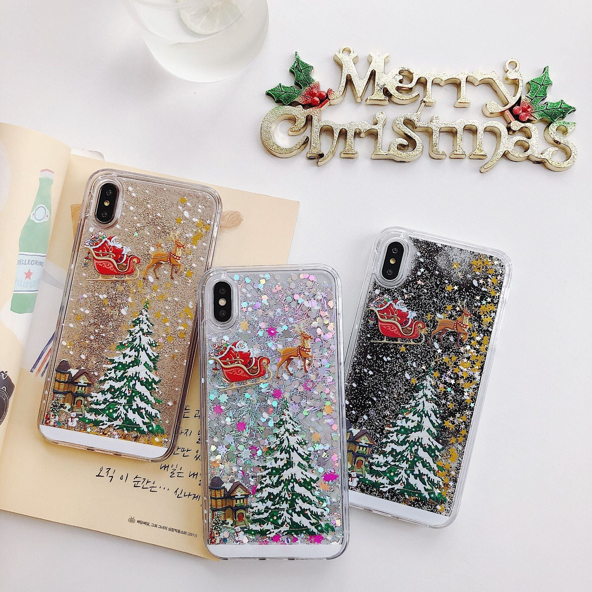 【Christmas sale-BUY 2 GET Extra 10% DISCOUNT】Flash powder mobile phone case - ChoiceBird