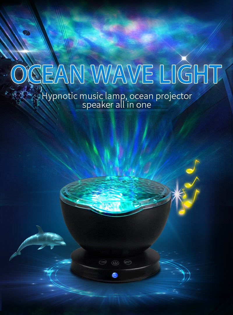 Romantic Ocean Wave Moon Light - ChoiceBird