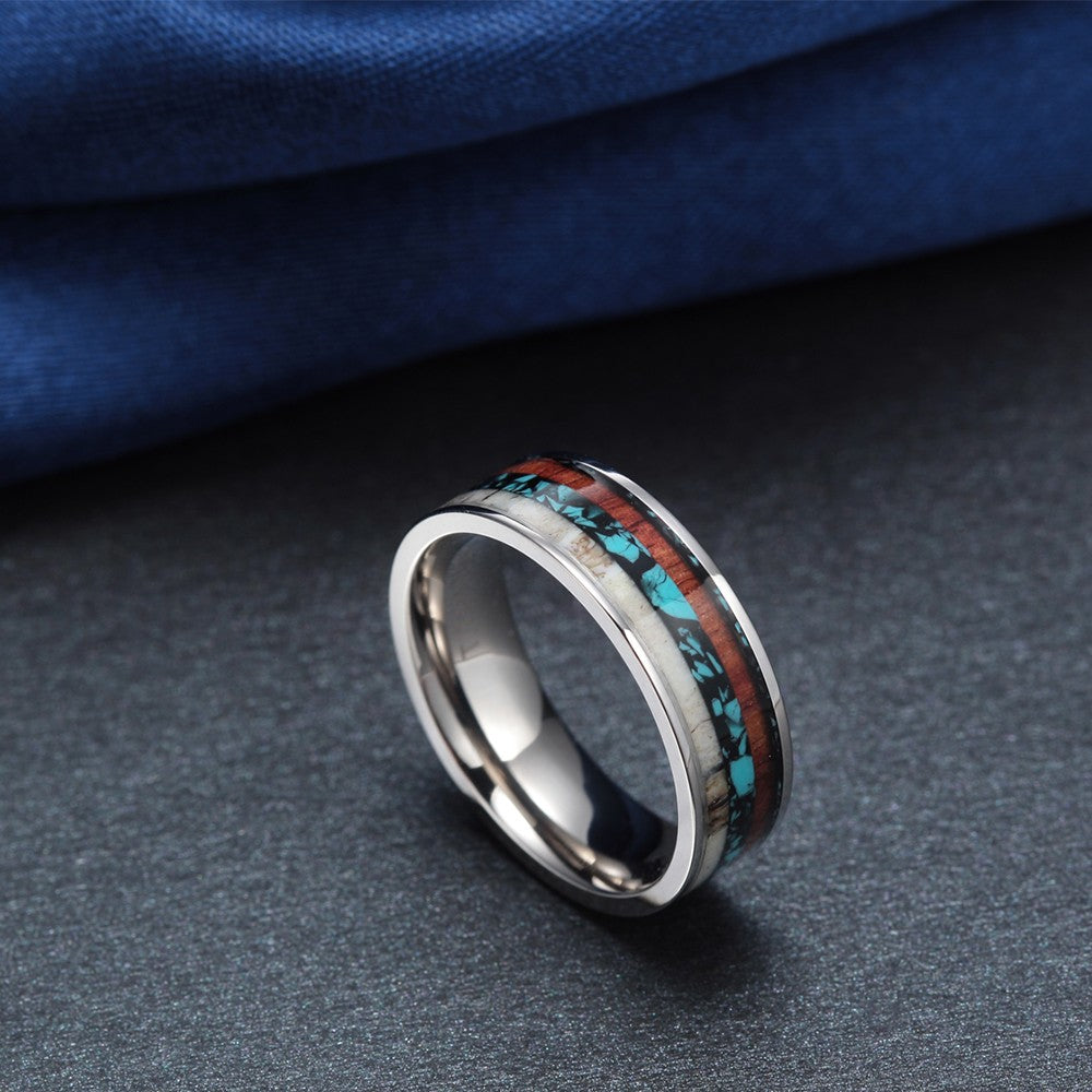 Natural Titanium Ring - ChoiceBird