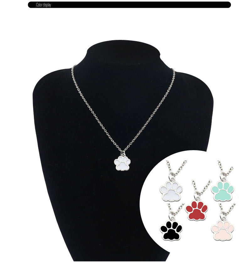 Dog Paw Pendant - ChoiceBird