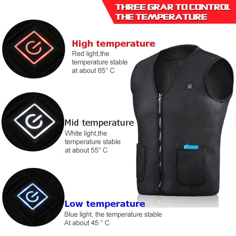 Warming Winter Heated Jacket - ChoiceBird